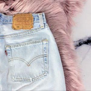 Levi's 501 Jeans Vintage 70's 80's Destroyed 29